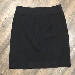 Banana Republic Black Pencil Skirt SZ 4 EUC